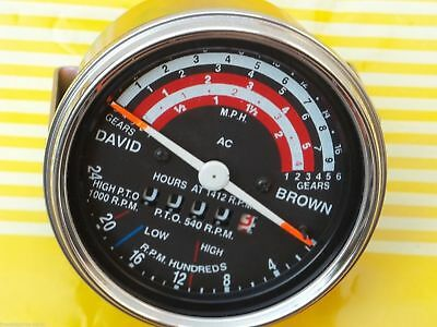 David Brown Mph Tractors Tachometer 885 990 995 996 1210 212