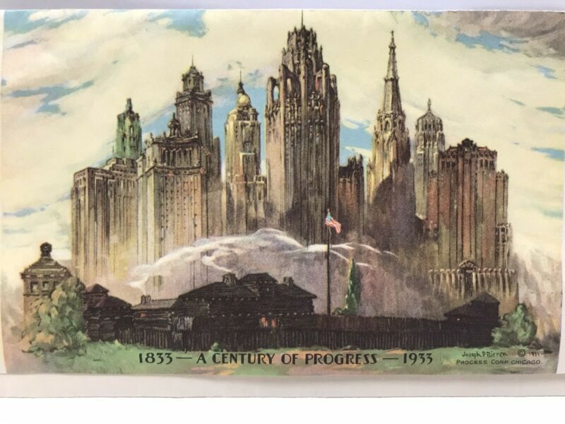 Envelope from 1933 Chicago Century of Progress Fair ~ Artwork by Jose P Birren