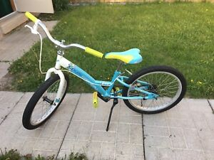 "LG girls 20"" bike AS IS"