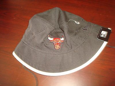 1f0878e11c7fc CHICAGO BULLS NEW ERA GOLF SZ L RARE SCRIPT hat cap BUCKET FLOPPY BEACH