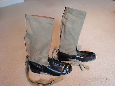 WW2 RAF flying boots, warm weather, size 6. Very Rare