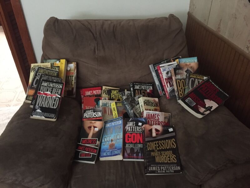 30 James Patterson Books