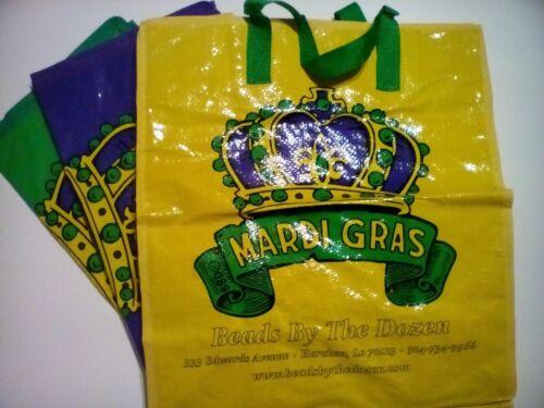 3 Mardi Gras  Bead Storage Bags FREE SHIPPING!!