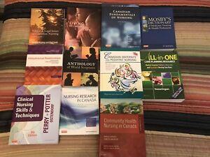 Nursing textbooks and religion texts
