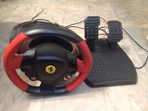 Trustmaster 458 Italia Xbox One Racing Wheel and Pedals