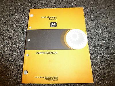 John Deere Model 710d Backhoe Loader Parts Catalog Manual Book Pc2368