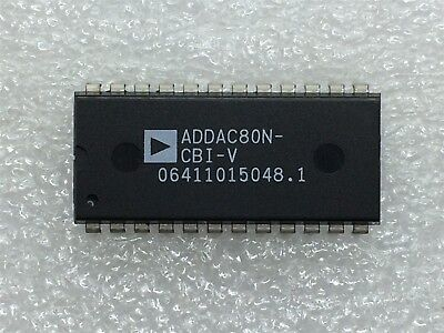 Addac80n-cbi-v Analog Devices Ic Dac 12-bit Binary Mono 24-dip 1 Unit