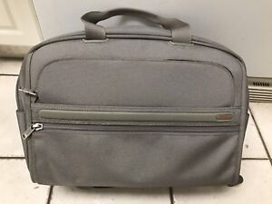 Tumi carry-on/weekend Bag + FREE Tumi leather slim briefcase