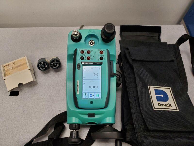 GE Druck DPI 620 Pressure Calibrator with HART & two pressure modules