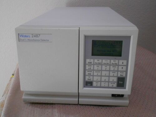 Waters 2487 Dual λ Absorbance HPLC FPLC Detector Dual Wavelength Modes