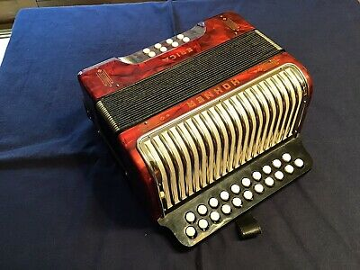 Hohner Erica - Vintage Accordion Made in Germany
