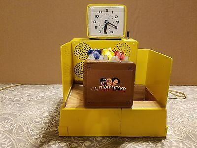 3 Stooges spinning bed alarm clock custom prototype $750.00
