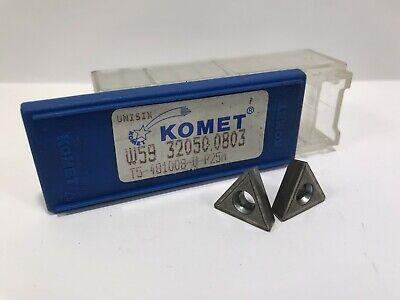 Komet W59 32050.0803 New Carbide Inserts 10pcs