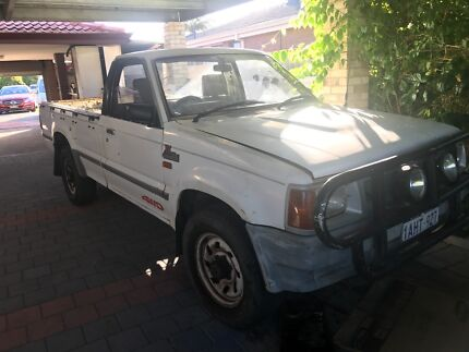 FORD COURIR UTE 1993 , LICENSED