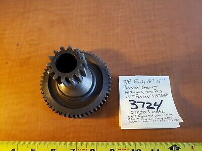 Southbend Lathe Early 1516pinnion Feed Gear 14tpinnion 54t16dp Gear Repaired