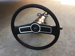 Ford XC GXL/Cobra blank steering wheel suit Falcon Fairmont 302 351 North Geelong Geelong City Preview