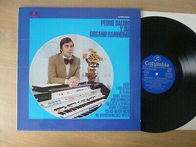 Pedro Salom Y Su Organo Hammond  SPAIN 1975  LP  Vinyl   vg segunda mano  Embacar hacia Mexico