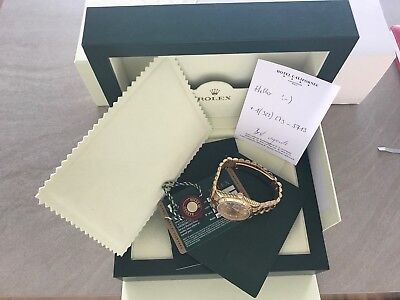 Rolex Day-Date 18kt Yellow Gold 118238 Mens Watch