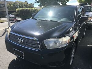 Toyota Highlander Hybrid -1 year Warranty