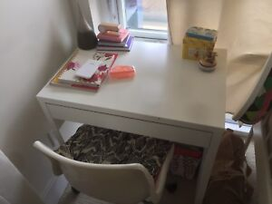 Study table with its chair