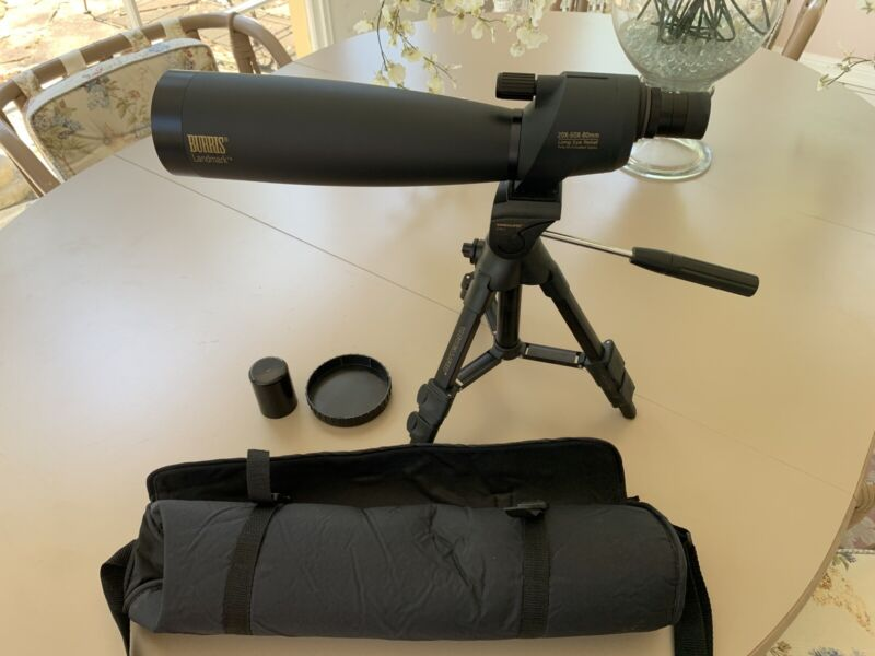 Burris Spotting scope. Landmark. 20x-60x-80mm Excellent Condition.