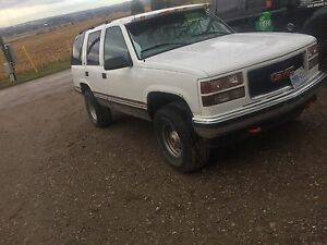 1998 Yukon 4x4 Fully Loaded