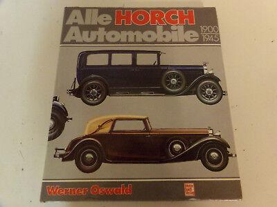 Alle Horch Modelle 1900-1945 Wehrmacht 853 Cabriolet * 951 * Militär * Spähwagen