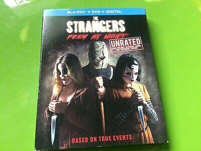 The Strangers: Prey at Night (Blu-ray/DVD, Digital HD, 2018) NEW w/slipcover