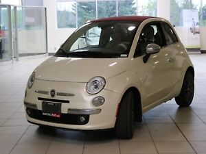 2013 Fiat 500 LOUNGE CONVERTIBLE