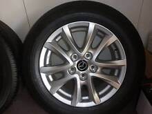 """Brand new Mazda 3 16"""" alloys and tyres - SET OF 4 Upper Mount Gravatt Brisbane South East Preview"""