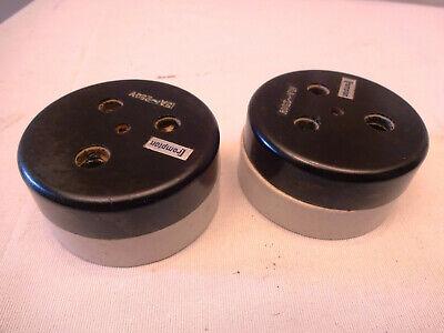 Antique Electric Switches Bakelite Light Socket Crompton Vitreous 15 Amp 250V*10