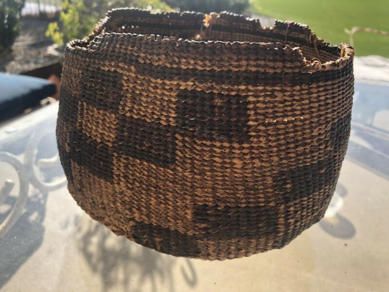 Shasta Indian Tribe Basket
