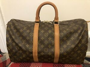 Vintage Louis Vuitton Keepall 45