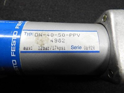 Festo Pneumatic Cylinder Dn-40-50-ppv - Nos