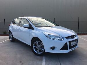 2012 Ford Focus LW Trend PwrShift White 6 Speed Sports Automatic Campbellfield Hume Area Preview