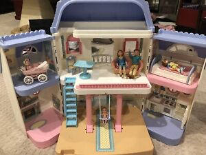 Barbie Fisher Price Camper Dollhouse Airplane Car Toys