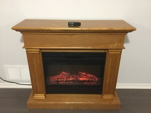 New electric fire place
