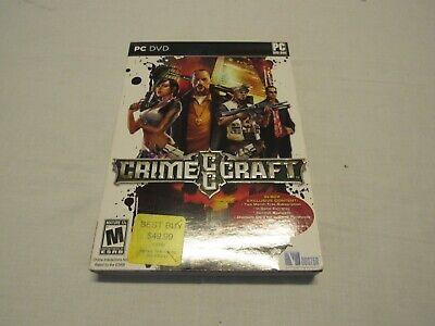CrimeCraft Best Buy Exclusive (PC, 2009)