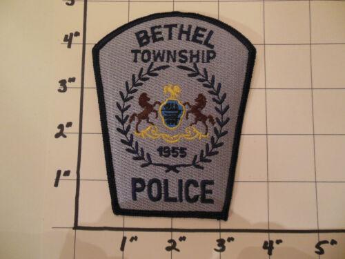 BETHEL TOWNSHIP POLICE  PA  PENNSYLVANIA   BERKS COUNTY  STYLE B