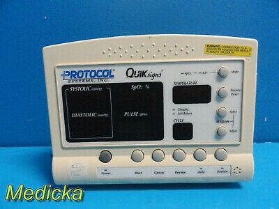 Welch Allyn Quick Signs 52000 Series Patient Monitor Wo Leads Or Adapter 15437
