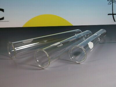 KIMAX test tubes 25mm x 200mm with rim ***QTY=3***