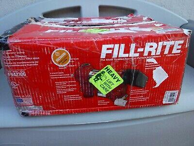 Fill-rite Fuel Transfer Pump Fr4210g 12vdc 20 Gpm