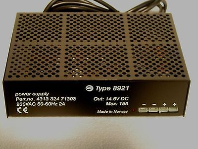 13.8 volts DC /  15 amp  POWER SUPPLY- WORKING  HAM RADIO
