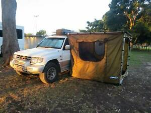 1999 4WD Mitsubishi Pajero EXCEED with camping gear backpacker car 4x4