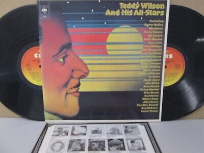 Teddy Wilson And His All-Stars 2-LP (The Best of) EX++ Chu Berry Johnny