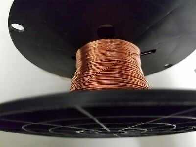 Bare Solid Copper Wire Bright 20 Awg 0.031 Diameter 250 Reel Length