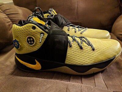 00cd6bbf85f9 New Nike Kyrie 2 All Star Basketball Cavs Celtics Unreleased Size 11 835922- 307