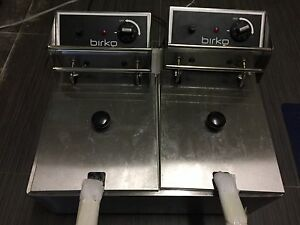 BIRKO Electric DEEP FRYER double Perth Perth City Area Preview