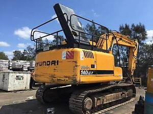 HYUNDAI 140LC-7 EXCAVATOR FOR SALE HOURS 10363 MODEL: 120BEX140LC Wacol Brisbane South West Preview