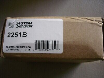 System Sensor 2251b New